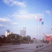 Photo taken at Suzhou Sports Center by 扬 王. on 2/4/2014