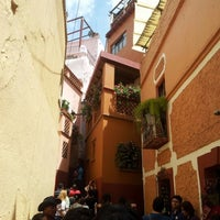 Photo taken at Callejón del Beso by Perro L. on 8/5/2012