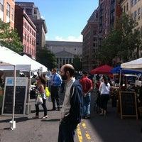 Photo taken at Penn Quarter FRESHFARM Market by Bruce J. on 5/10/2012