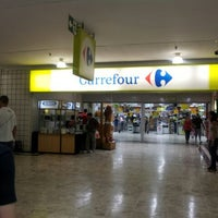 Photo taken at Carrefour by Fábio L. on 1/14/2012
