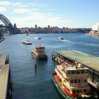 Photo taken at Circular Quay Ferry Terminal by jaddan b. on 8/24/2011