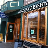 Photo taken at Arizmendi Bakery by Carol H. on 3/11/2012