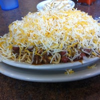 Photo taken at Skyline Chili by Ben R. on 7/20/2012