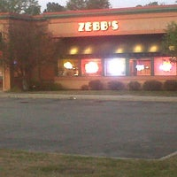 Photo taken at Zebb's Deluxe Grill & Bar by Adam Robert B. on 8/26/2012