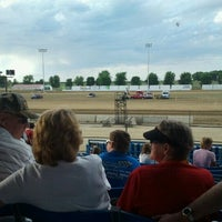 Photo taken at Clay County Fair Grounds by Amanda k. on 8/18/2011