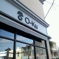 Photo taken at O-Ku by Matthew S. on 1/31/2012