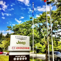 Photo taken at Richmond Chrysler Dodge Jeep Ltd. by Harry P. on 7/2/2011