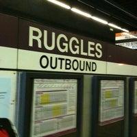 Photo taken at MBTA Ruggles Station by David P. on 4/26/2011