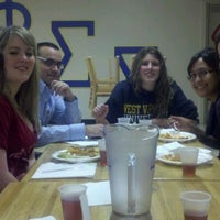 Photo taken at Rider University - Phi Sigma Sigma by Erin M. on 1/21/2012