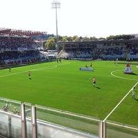 Photo taken at Orogel Stadium Dino Manuzzi by Vladimiro M. on 10/2/2011
