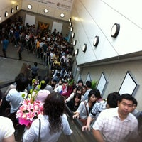 Photo taken at MRT Queen Sirikit National Convention Centre (SIR) by uglypink ✿. on 2/13/2011