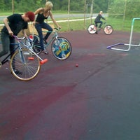 Photo taken at CLT Bike Polo by Brent T. on 2/9/2012