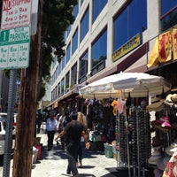 Photo taken at Fabric District by Nicole T. on 6/27/2012