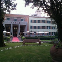 Photo taken at Grand Hotel Terme by Andrea C. on 9/23/2011