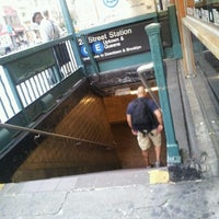 Photo taken at MTA Subway - 23rd St (C/E) by mabel p. on 9/26/2011