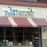 Photo taken at Tula Organic Salon and Spa by Michelle M. on 8/3/2012