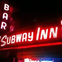 Photo taken at Subway Inn by David M. on 10/19/2011