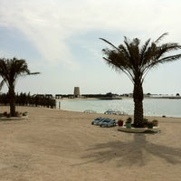 Photo taken at Al Dar Island by Ammar A. on 1/31/2012