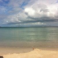Photo taken at Playa El Paraíso by María Gabriela P. on 2/17/2012