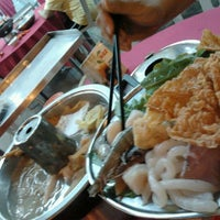 Photo taken at Ketam Steamboat Seafood by Oliver Yong D. on 1/31/2012