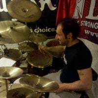 Photo taken at Drum Groove School Di Andrea Pollastri by Andrew P. on 9/29/2011