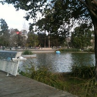 Photo taken at Parque Quinta Normal by Masi on 8/18/2012