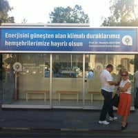 Photo taken at Narenciye Otobüs Durağı by Omer D. on 9/6/2012