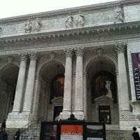 Photo taken at New York Public Library - Stephen A. Schwarzman Building Celeste Bartos Forum by Carrie F. on 3/25/2012