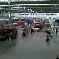 Photo taken at Munich Main Railway Station by rokr on 8/24/2012