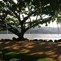 Photo taken at The St. Regis Princeville Resort by Kelly L. on 6/3/2012