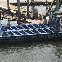 Photo taken at Willamette Jet Boat Tours by Dustyn F. on 8/11/2012