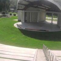 Photo taken at Warren Community Amphitheatre by Joshua N. on 9/7/2012