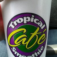 Photo taken at Tropical Smoothie Café by Jenn B. on 8/7/2012
