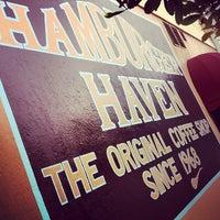 Photo taken at Hamburger Haven by Greg B. on 7/25/2012