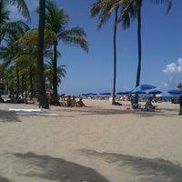 Photo taken at Fort Lauderdale Beach by Brett J. on 7/8/2012