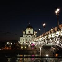 Photo taken at Patriarshiy Bridge by Pavel S. on 7/27/2012