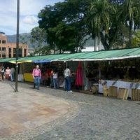 Photo taken at Parque de Bello by Camilo Esteban Q. on 8/21/2012