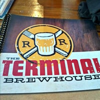Photo taken at Terminal Brew House by Nathan L. on 5/2/2012