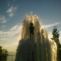 Photo taken at Father & Son Fountain by Margot W. on 8/6/2012