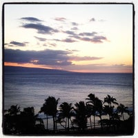 Photo taken at Marriott's Maui Ocean Club  - Lahaina & Napili Towers by Mike L. on 3/15/2012