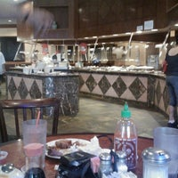 Photo taken at Golden Island Chinese Buffet by Susan C. on 5/3/2012