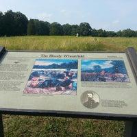 Photo taken at Wheatfield, Gettysburg Battlefield by Debra V. on 7/16/2012