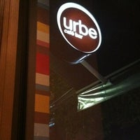 Photo taken at Urbe Café Bar by Adriana I. on 6/13/2012