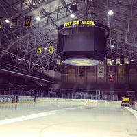 Photo taken at Yost Ice Arena by Quan X. on 2/11/2012