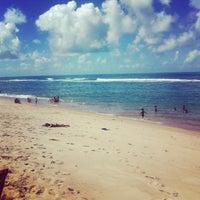 Photo taken at Praia Barra de São Miguel by Victor d. on 6/17/2012