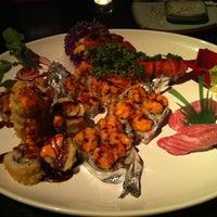 Photo taken at Miki Japanese Restaurant by Trevor C. on 2/15/2012
