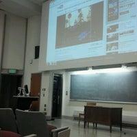 Photo taken at Woodburn Hall by Erik P. on 4/19/2012