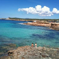 Photo taken at Cala Comte / Conta by Leticia B. on 5/1/2012