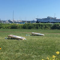 Photo taken at The Brant Point Grill at The White Elephant Hotel by Joel S. on 8/20/2016