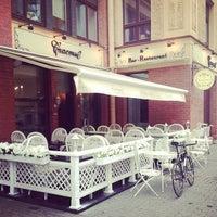 Photo taken at Бар-ресторан СЧАСТЬЕ by Egor F. on 7/19/2013